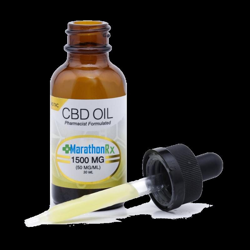 CBD 1,500 mg/oz drops